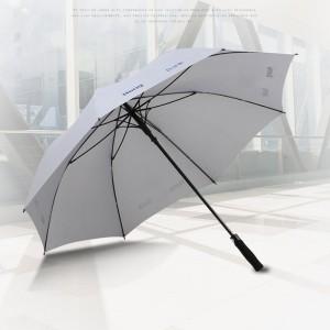 2-3-Person large two-person business white automatic golf straight Umbrella men's advertising long handle umbrella outdoor gift umbrella custom Umbrella Printing logo