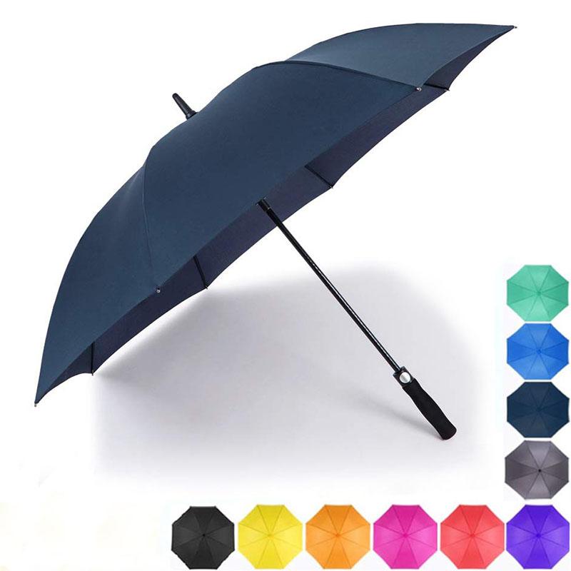 2019 New Navy blue Auto Open Waterproof golf Umbrellas for Business man