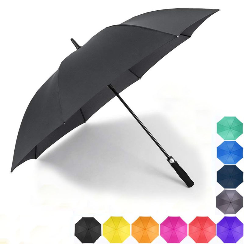 Hot selling Automatic Open Waterproof golf Umbrellas with UV