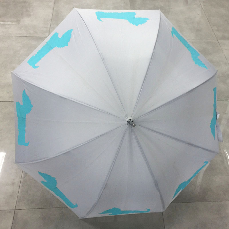 Straight-umbrella-with-printing-dog