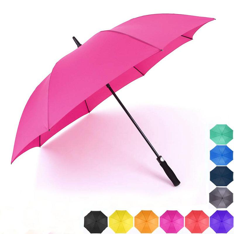 55/60inch colors Windproof Oversize Waterproof golf Umbrellas for Men Women