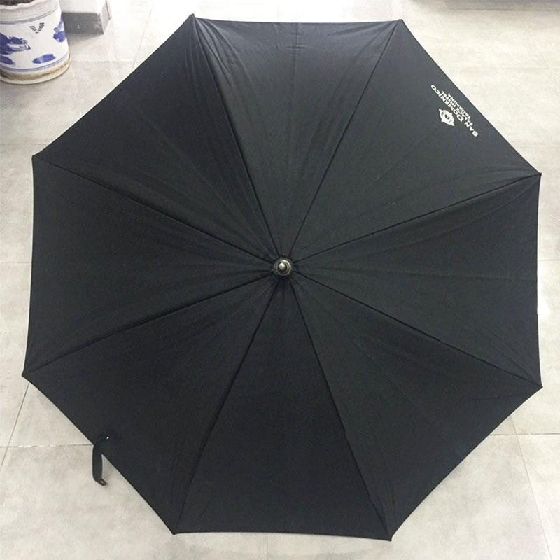 Cotton-fabric-wooden-straight-umbrella