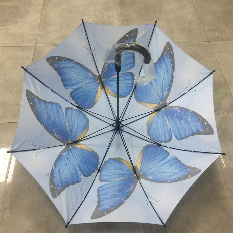 Womens-Fashion-gift-butterfly-umbrella