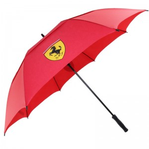 Best quality Porsche brand golf umbrella alvailable from red double layer vent for men&women