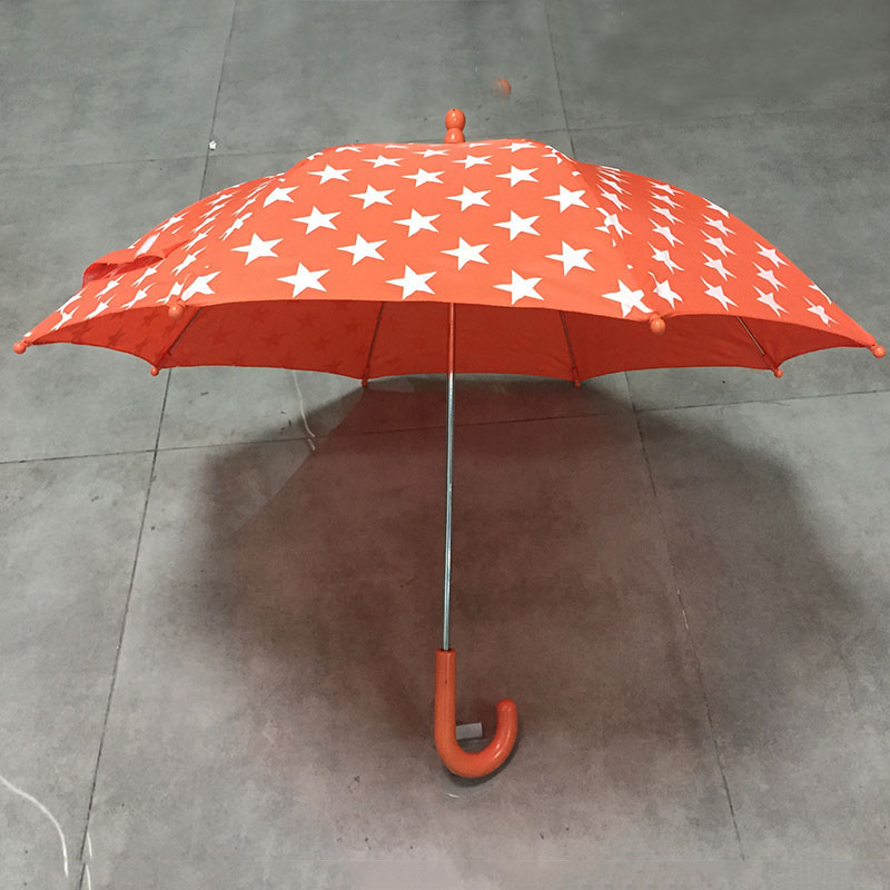 2019 Purchase High quality new promotional printing waterproof straight child umbrella from China