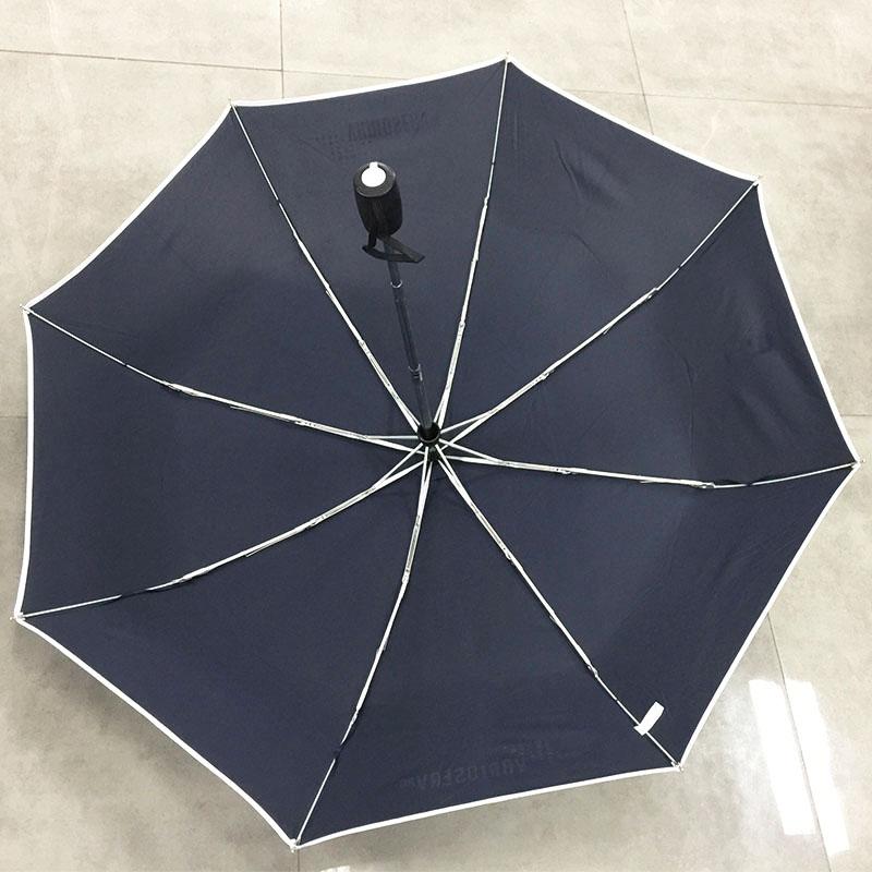 Economical-Navy-blue-auto-umbrella