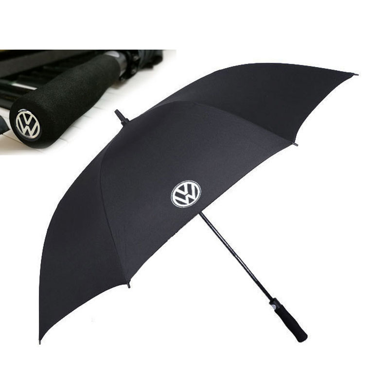 Golf Umbrella Large Windproof Umbrellas Auto Open for VW
