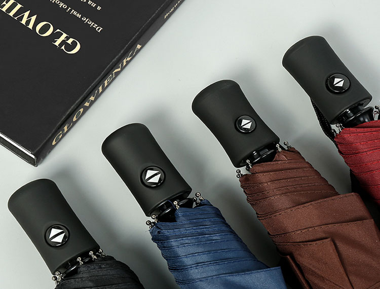 Automatic Open Close Folding Umbrella Windproof Travel Compact Portable Sun&Rain UV Ultraviolet Proof Umbrella