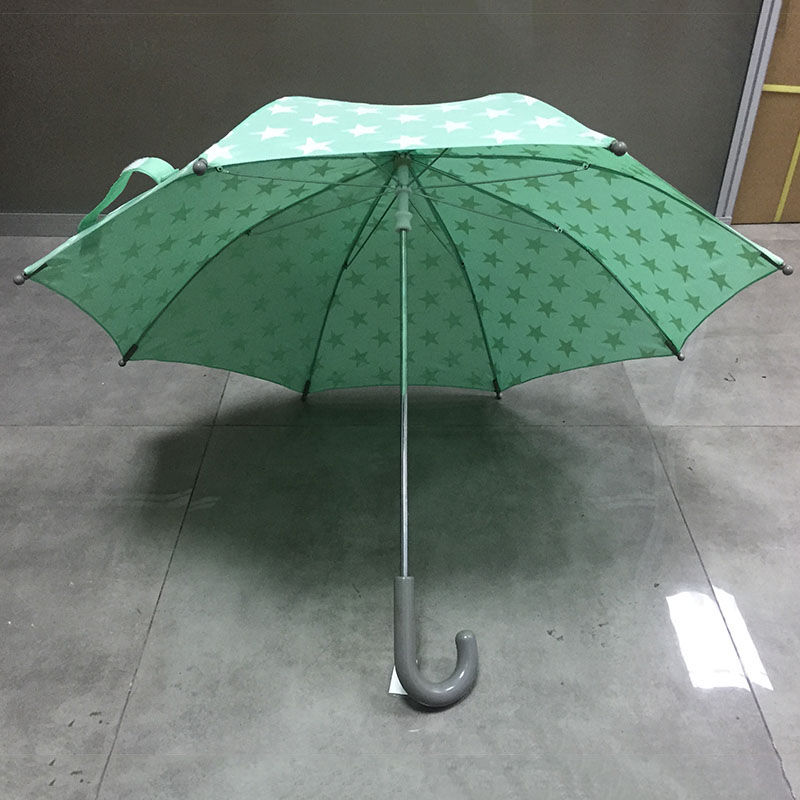 oem-straight-green-child-umbrella