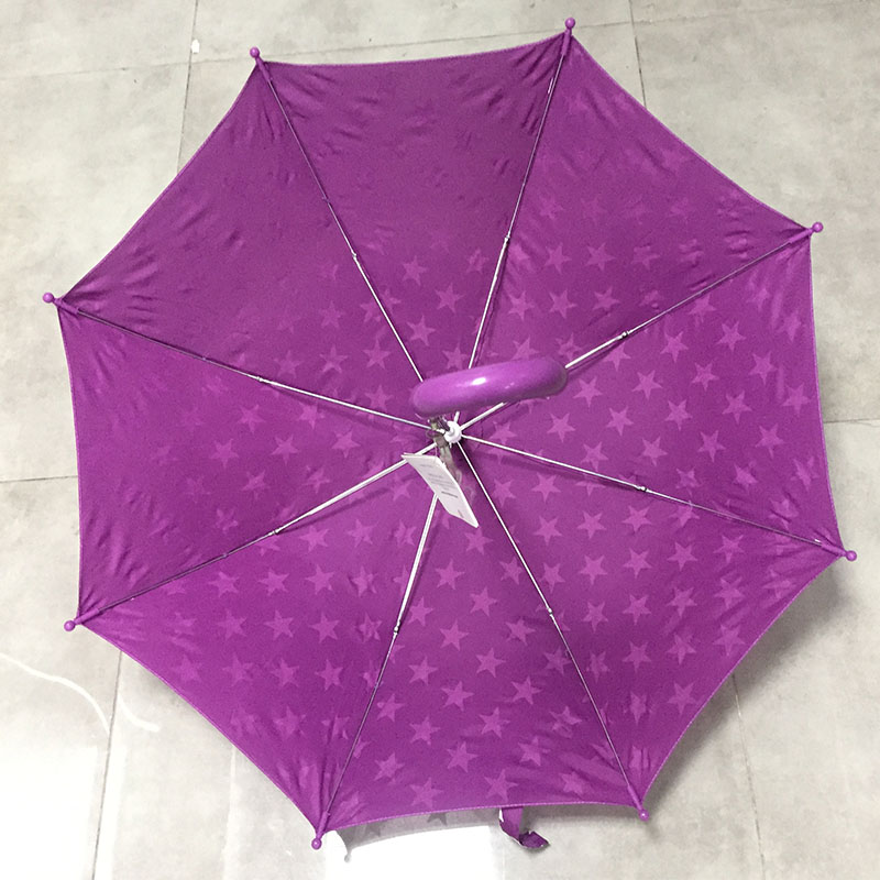Cheap-cute-children-umbrella-with-stars-printing