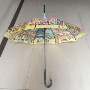 WOLUNTU® Sun UV Protection Rain Umbrella Unique New design Colorful printing Pagoda Umbrella for children kind