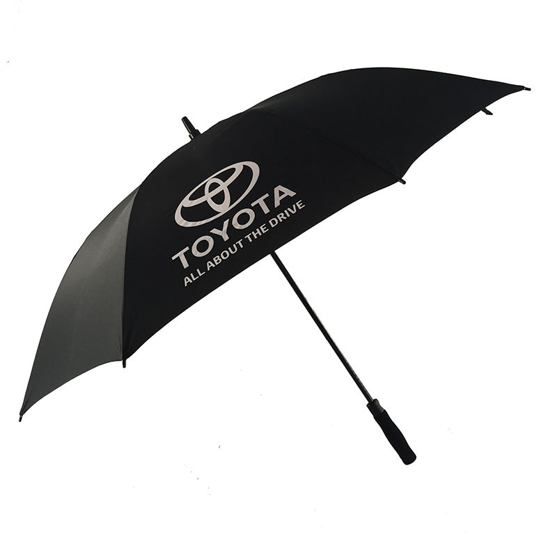 Golf windproof auto open toyota umbrella new product
