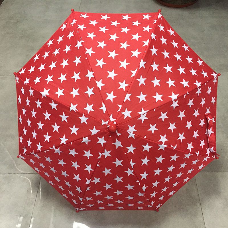19inch-8ribs-red-kid umbrella