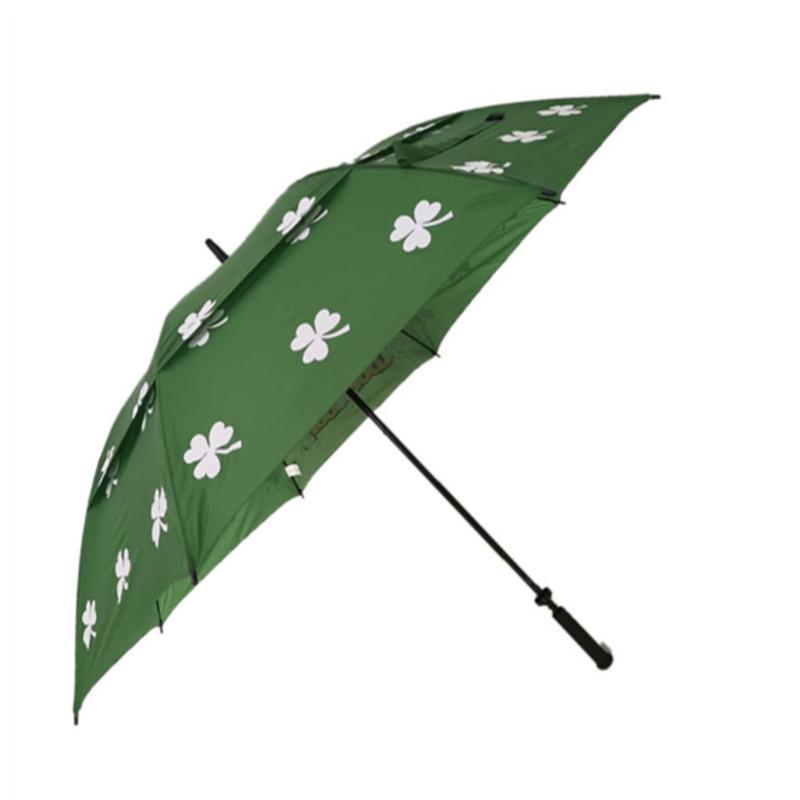30inch auto black rubber handle vented self pouch,golf  umbrella