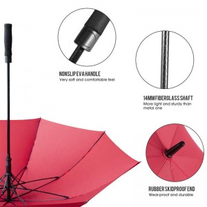 2019 New Products EVA Handle Golf  Rain Umbrella For man women