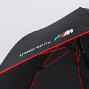 Premium Quality BMW Umbrella Golf Automatic Red Frame and Wheel handle