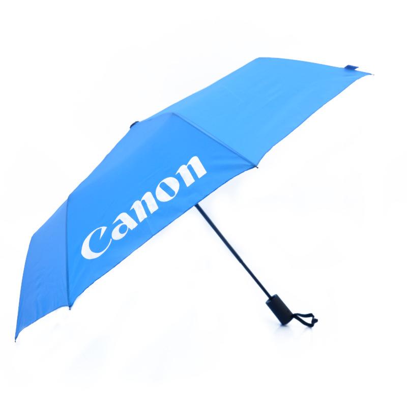 Auto Open Close Umbrella logo Travel Windproof Compact Umbrella For Men Women