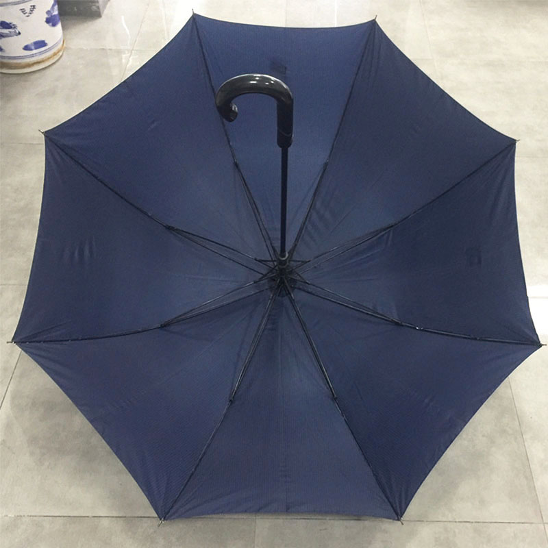 High-quality-Double-canopy-STRIPE-UMBRELLA