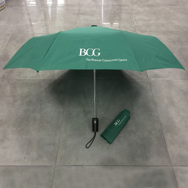 Travel Umbrella Windproof Automatic Umbrellas-Factory Outlet Umbrella Green