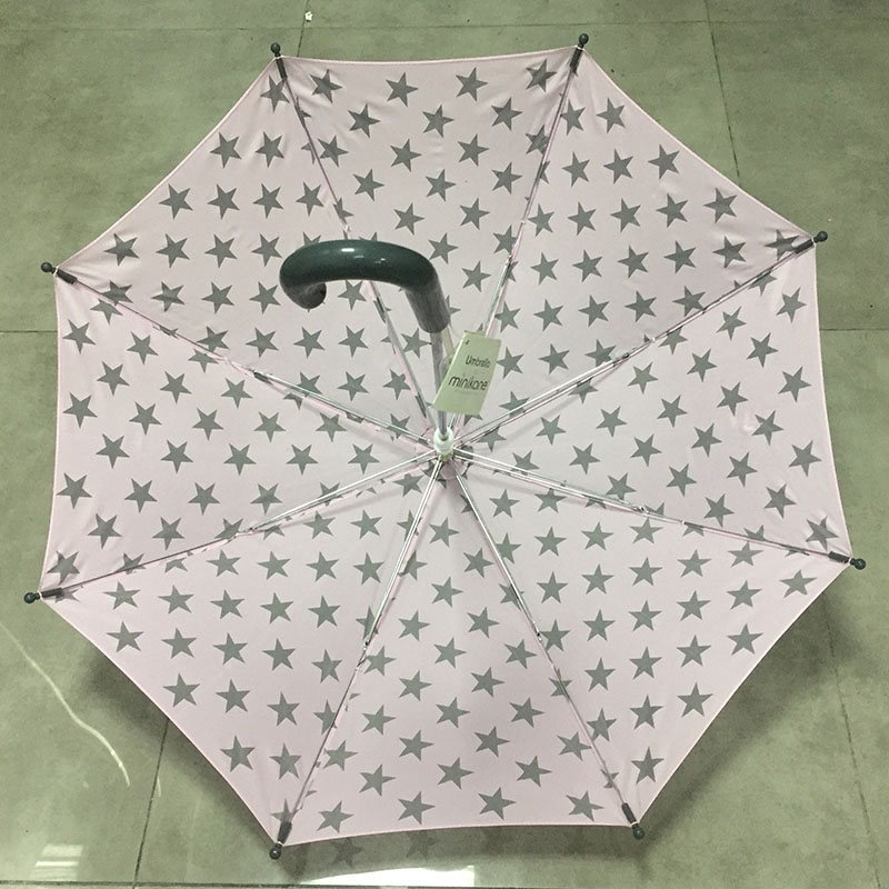 hook-plastic-handle-pink-straight-umbrella