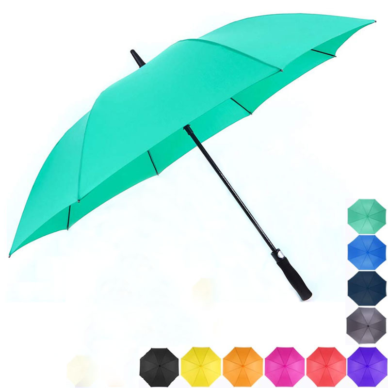 Golf Single Canopy Umbrella 60Inch Windproof  for Men Women