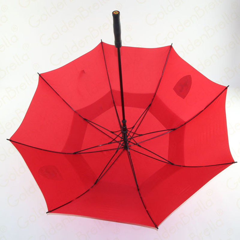 Promotional-automatic-double-layer-windproof-golf-umbrella-For-Porsche-01